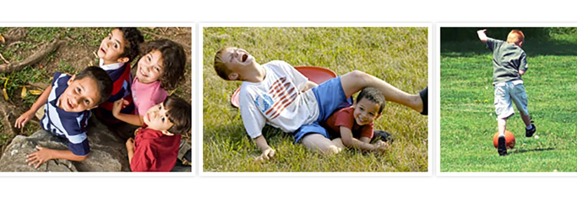 Home School PE image collage